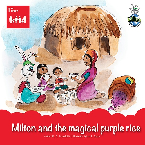 Milton and the magical purple rice